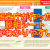 免税制度のポイント「免税手続の多言語説明シート」が非常にわかりやすい